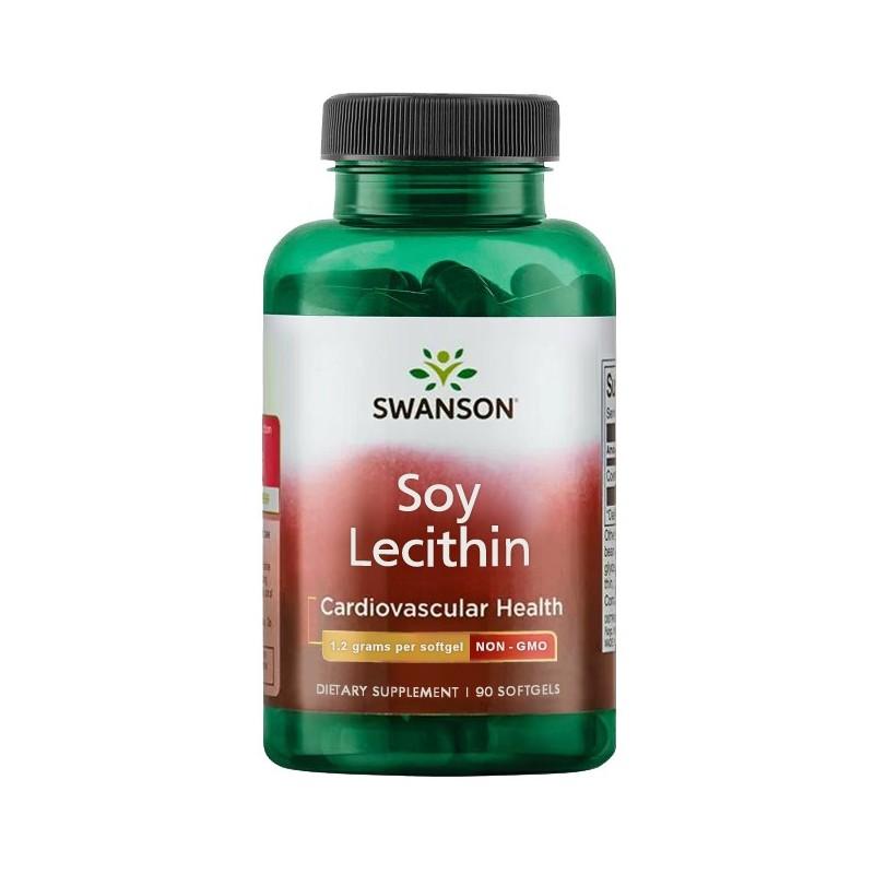 SW LECITHIN NON-GMO 1200MG 90 SGELS