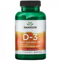 SW Vitamin D-3 with Coconut...